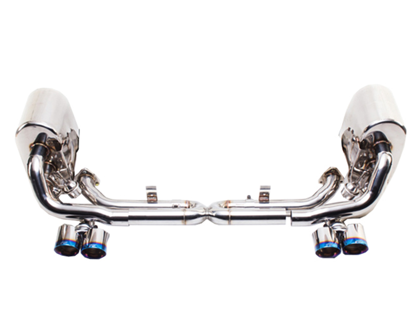 IPE Stainless Steel Valvetronic Exhaust System with Remote and Polished Tips Porsche Carrera S | 4S 997.2 09-11 - PR015