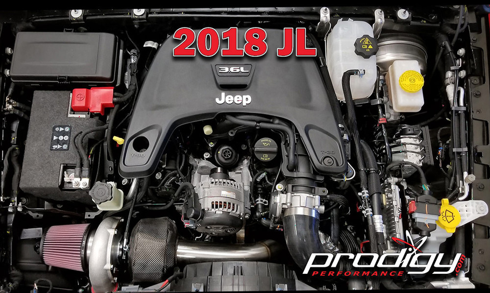 Jeep Wrangler Turbo Kit 2018 Pres Wranger Jl 3 6 Liter Stage 2 Prodigy Performance