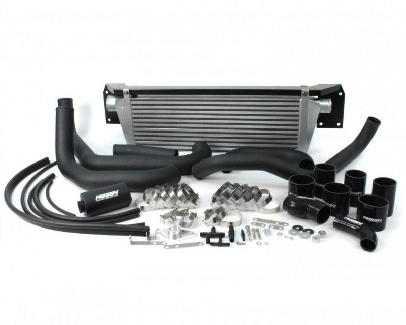 Perrin Performance Front Mount Intercooler Silver Core with Bumper Beam Subaru WRX STI 08-14
