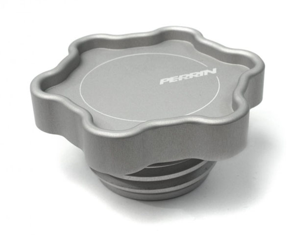 Perrin Performance 6-Point Oil Filler Cap Silver Subaru Legacy GT 05-09