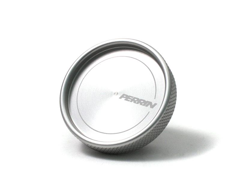 Perrin Performance Silver Oil Fill Cap Subaru WRX STI 02-15