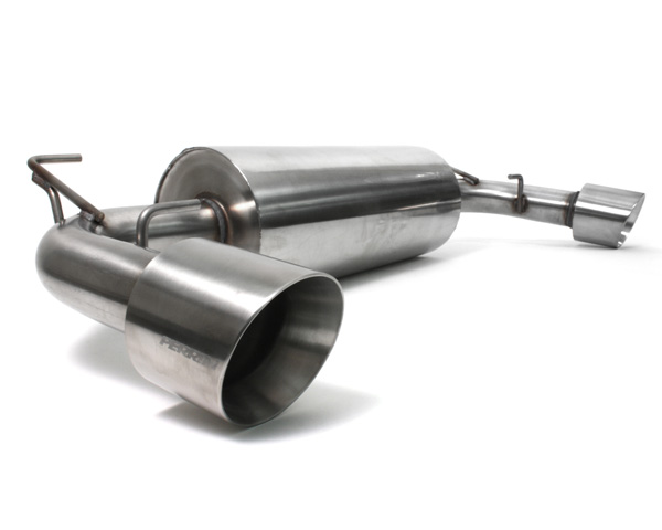 Perrin Performance 2.5 Inch Catback Exhaust Dual Tip with Resonator Subaru BRZ 13-14 - PSP-EXT-360BR