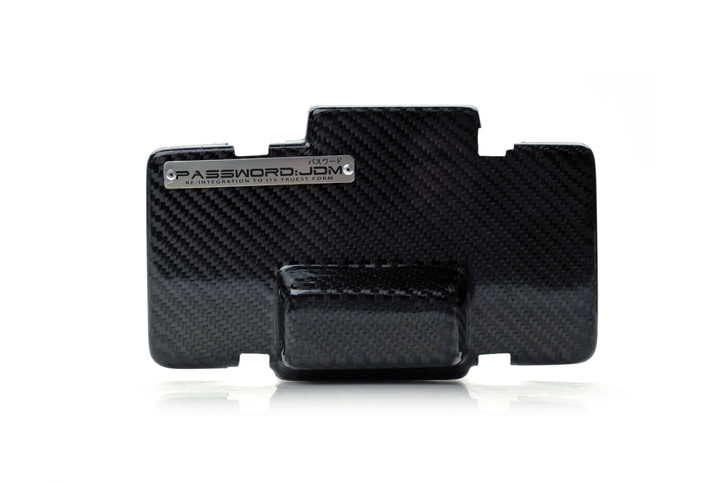 password jdm dry carbon fiber fuse box over cover acura. Black Bedroom Furniture Sets. Home Design Ideas