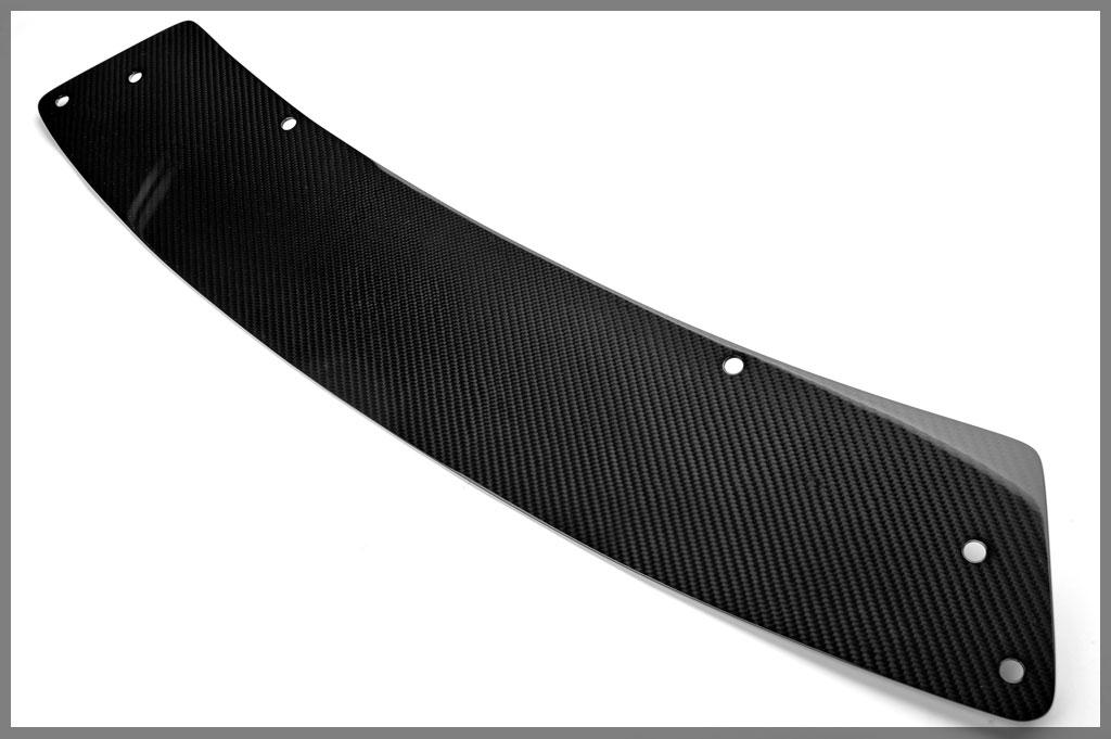 Password JDM Dry Carbon Front Splitter Center Panel Scion FR-S - PWCFSC-FRS-00C