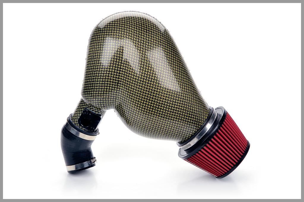 Password JDM Dry Carbon Kevlar PowerChamber Intake Honda Civic 06-13 - PWCPC-FGX-KRK