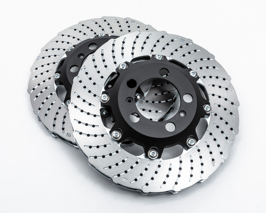 WP Pro Front 380x34mm 2pc Brake Rotor Upgrade Suncut Porsche 911 GT3 | Turbo - WP-PORGT3-RTR-F