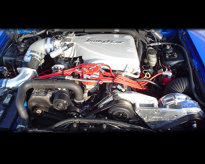 ProCharger Stage II Intercooled System with D-1SC with 12 rib Ford Mustang  GT 5 0 (4 9L Windsor) 87-93