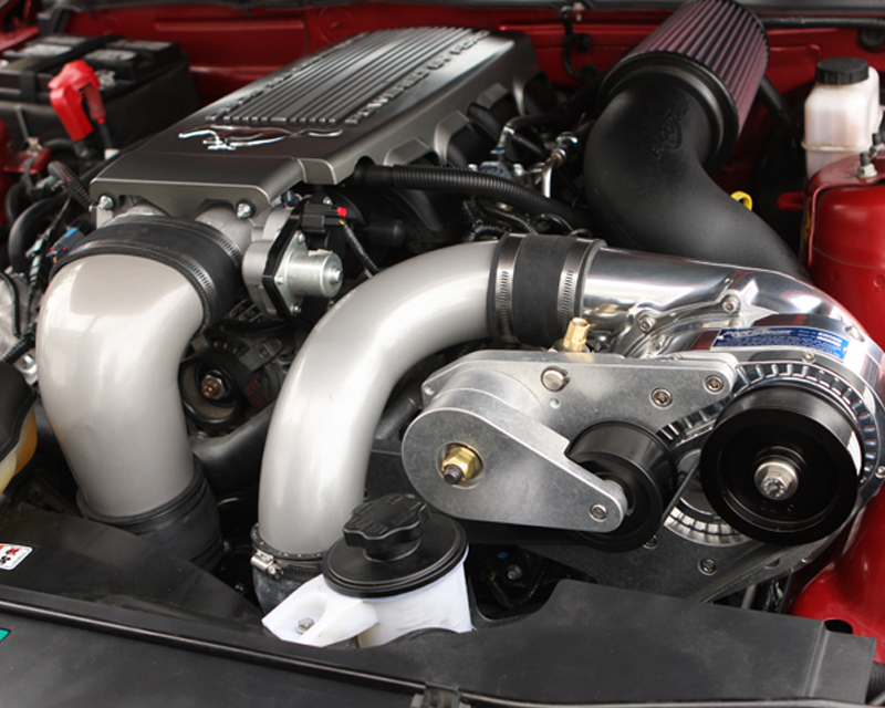 ProCharger Stage II Intercooled Tuner Kit with P-1SC-1 Ford Mustang GT 4.6L 3Valve 05-09 - 1FP202-SCI