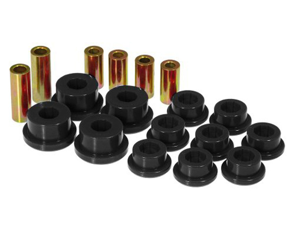 Image of Prothane Black Axle Housing Bushings Rear without Shells Ford Mustang 79-03