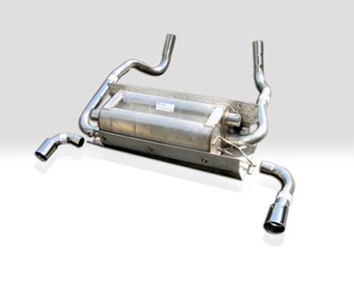 Image of Quicksilver Heritage Sport Stainless Steel Exhaust System Aston Martin Vantage V8 Virage 97-00