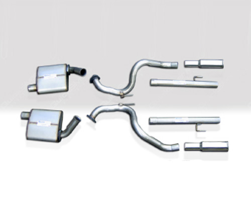 Image of Quicksilver Heritage Sport Stainless Steel Cat-Back Exhaust System Aston Martin DB7 3.2L 97-03