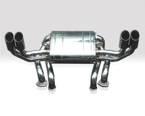 Image of Quicksilver Heritage Sport Stainless Steel Cat-Back Exhaust System Ferrari Testarossa 88-91