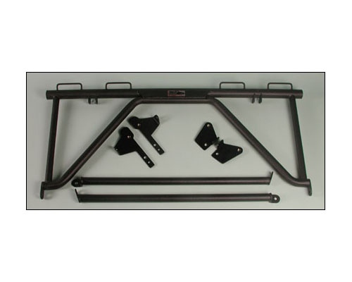 Brey Krause Harness Mount Bar Porsche 966 98-05 Cab | 997 05-08 Cab Coupe w/Bose - R-1029
