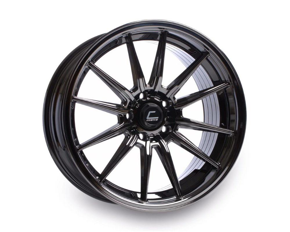 Cosmis Racing R1 Black Chrome Wheel 19x9.5 +20mm 5x120 - R1-1995-20-5x120-BC