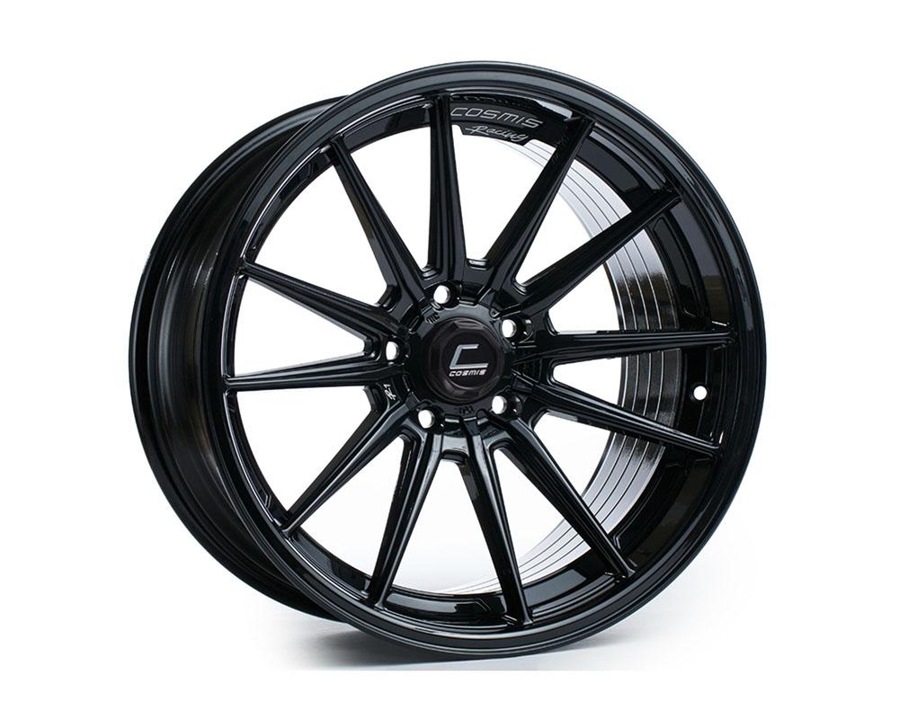 Cosmis Racing R1 Black Wheel 18x9.5 +35mm 5x114.3 - R1-1895-35-5X114.3-B