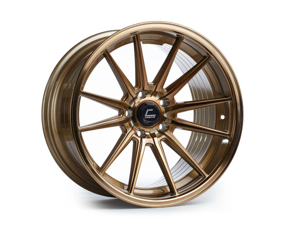 Cosmis Racing R1 Hyper Bronze Wheel 18x9.5 +35mm 5x112 - R1-1895-35-5x112-HBR