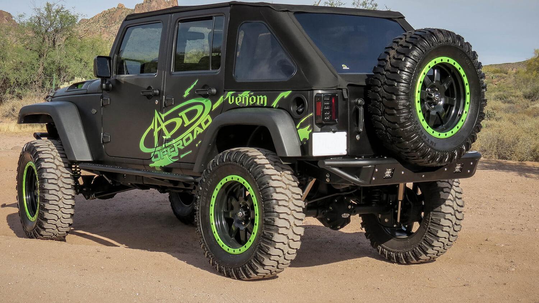 Addictive Desert Design Venom Rear Bumper Jeep Wrangler JK 07-16 - R952251370103