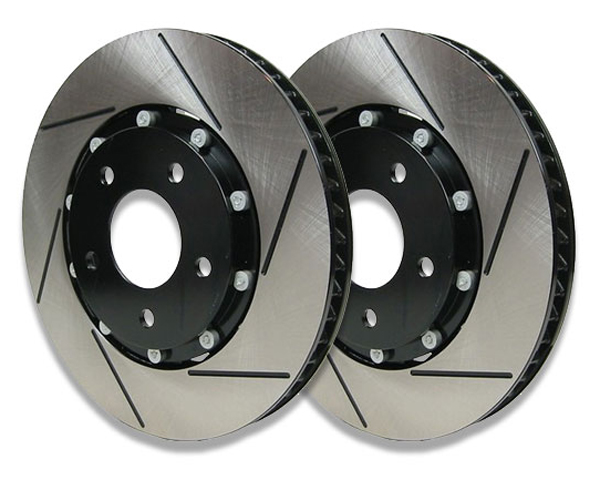 Image of RacingBrake 340x30x48mm Two-Piece Front Rotors Mercedes-Benz C32 AMG W203 02-04