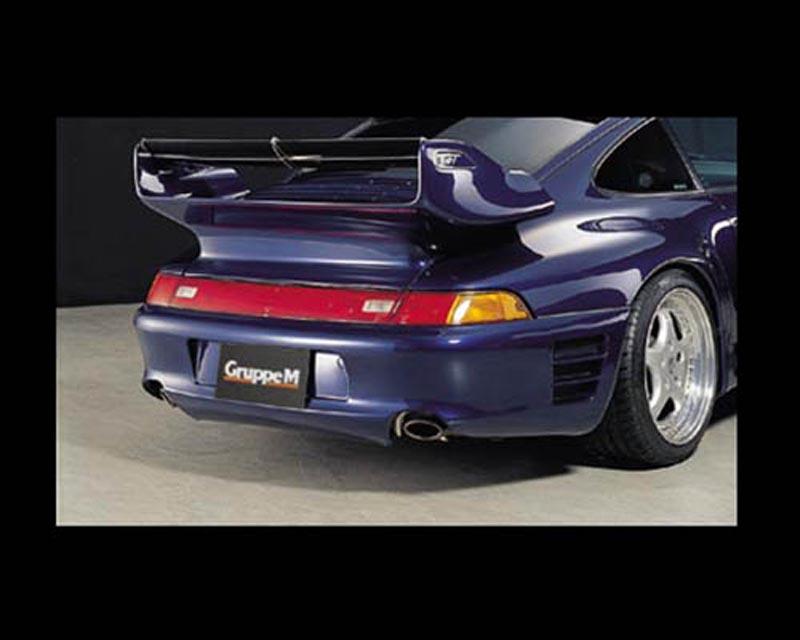 GruppeM Aerodynamics Carbon Rear Bumper Porsche 993 Carrera 2 96-98