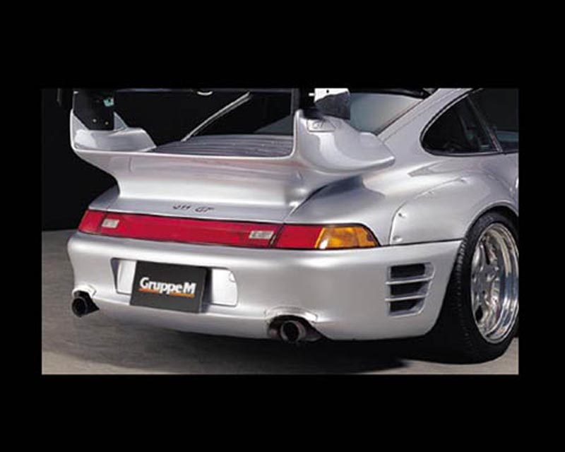 GruppeM Aerodynamics Carbon Rear Bumper Porsche 993 Carrera 2S Turbo 96-98