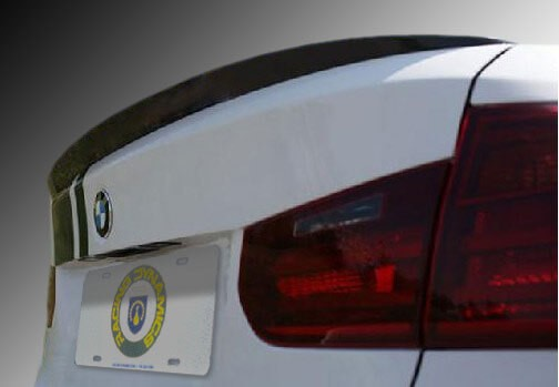 Racing Dynamics Carbon Fiber Rear Performance Spoiler BMW F30 3-Series 4-Door Sedan 12-16 - 121 14 30 120