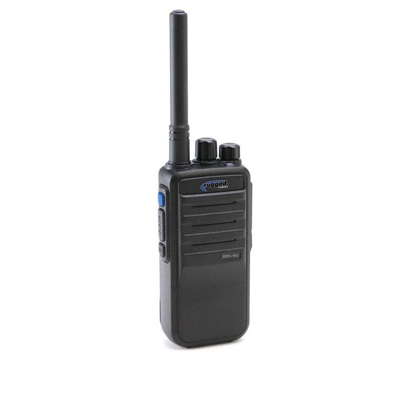 Rugged Radios Digital/Analog 16 Channel UHF Handheld Radio - RDH16C-U