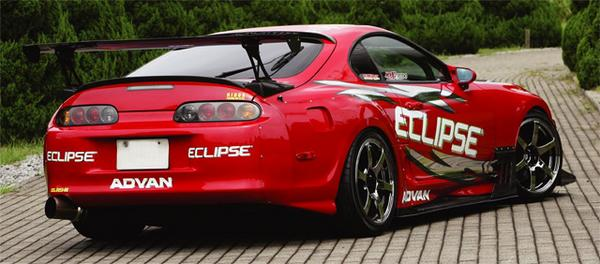 Image of RIDOX Carbon Rear Wide Fenders Toyota Supra 93-02