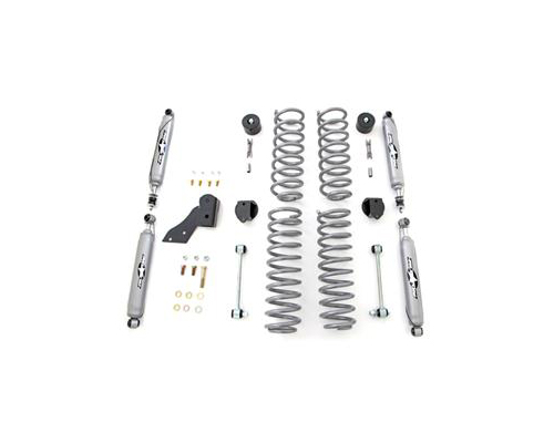 Rubicon Express 2.5-Inch Standard Coil Suspension System w/Twin Tube Shocks Jeep JK Wrangler 2 Door 07-12 - RE7121T