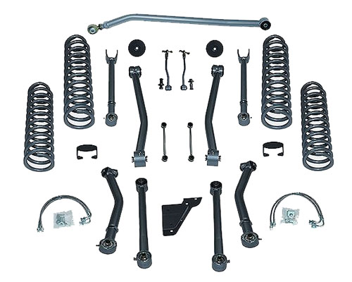 Rubicon Express 3.5 Inch Super-Flex Short Arm Suspension Jeep Wrangler 2DR 07-12 - RE7123