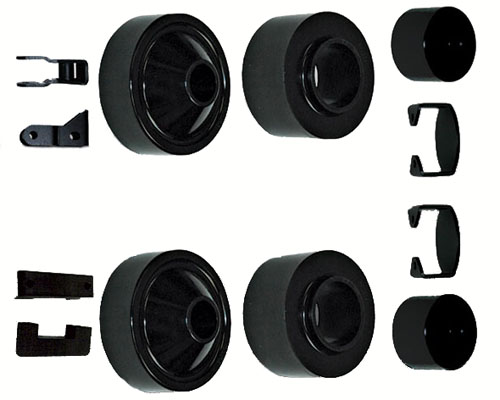 Rubicon Express 2 Inch Spacer Lift System w/o Shocks Jeep Wrangler 07-12