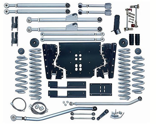 Rubicon Express 3.5 Inch Extreme-Duty Long Arm Suspension Jeep Wrangler TJ 97-02 - RE7203