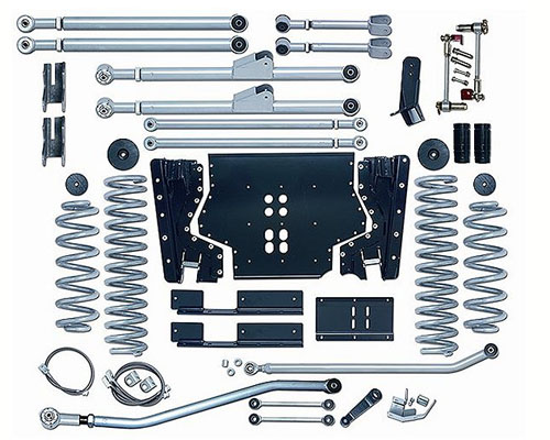 Rubicon Express 4.5 Inch Extreme-Duty Long Arm Suspension Jeep Wrangler TJ 97-02 - RE7204