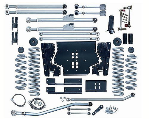 Rubicon Express 5.5 Inch Extreme-Duty Long Arm Suspension Jeep Wrangler TJ 97-02 - RE7205