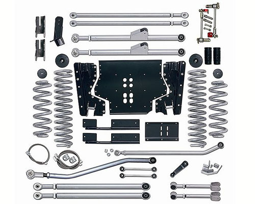 Rubicon Express 3.5 Inch Extreme-Duty Long Arm Suspension Jeep Wrangler Unlimited 04-06 - RE7223