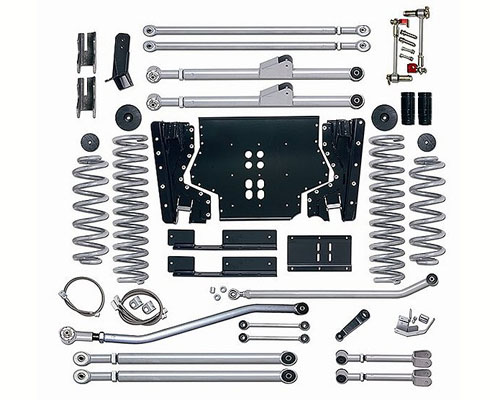 Rubicon Express 4.5 Inch Extreme-Duty Long Arm Suspension Jeep Wrangler Unlimited 04-06 - RE7224