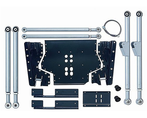 Rubicon Express Extreme-Duty Long Arm Suspension Upgrade Jeep Wrangler 03-06 - RE7231