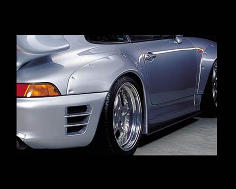 GruppeM Aerodynamics Fender Add-on Porsche 993 Carrera 2 96-98