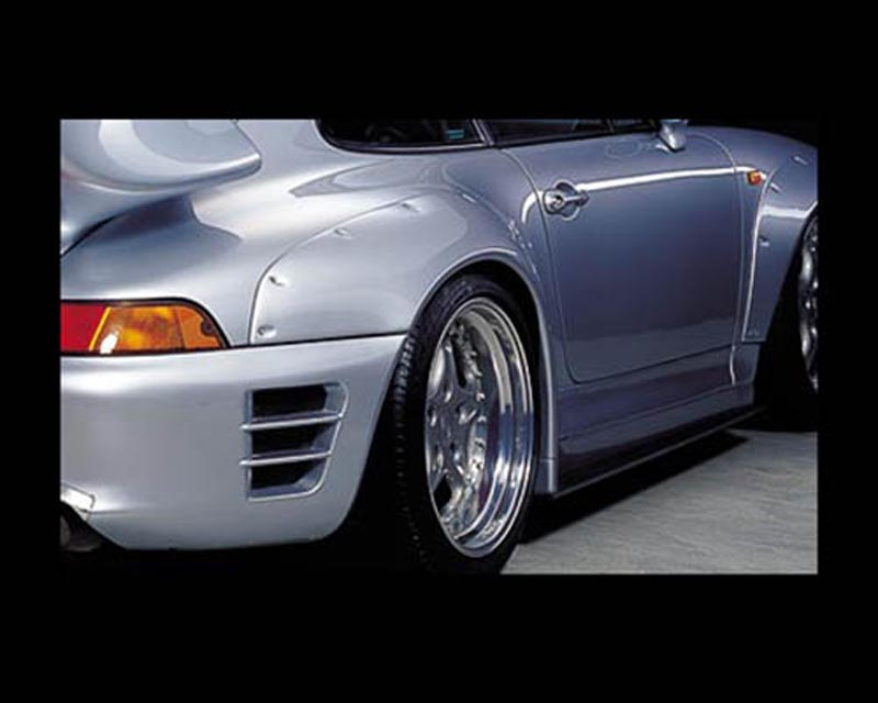 GruppeM Aerodynamics Fender Add-on Porsche 993 Carrera 2 GT2 Turbo 96-98