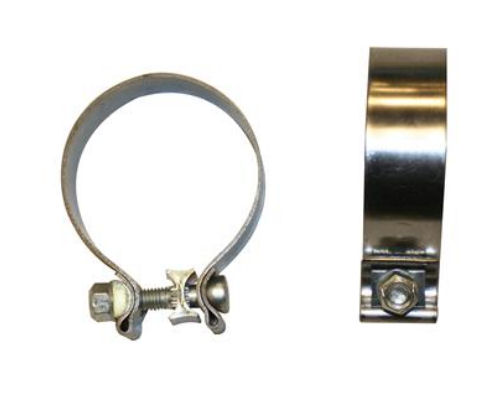 Kooks stainless steel inch single bolt band clamp