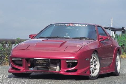 R Magic Complete Body Kit 07 Mazda RX-7 FC3S 86-92 - RMG40111100007