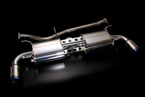 R Magic Stainless Muffler 02 Type C Mazda RX-8 04-11 - RMG41414322C02