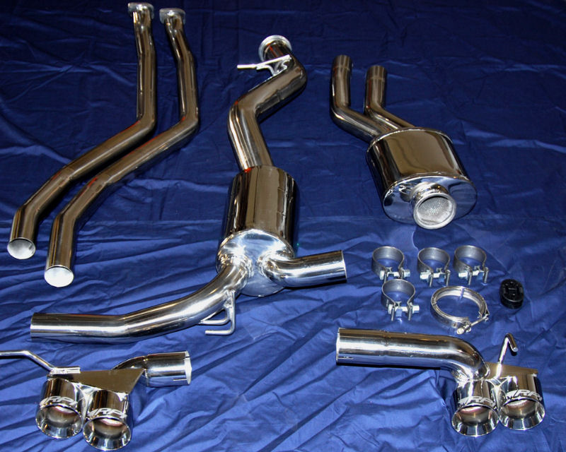 Race Precision GT Exhaust System BMW E82 135i Twin Turbo 08-13 - RP-EG022