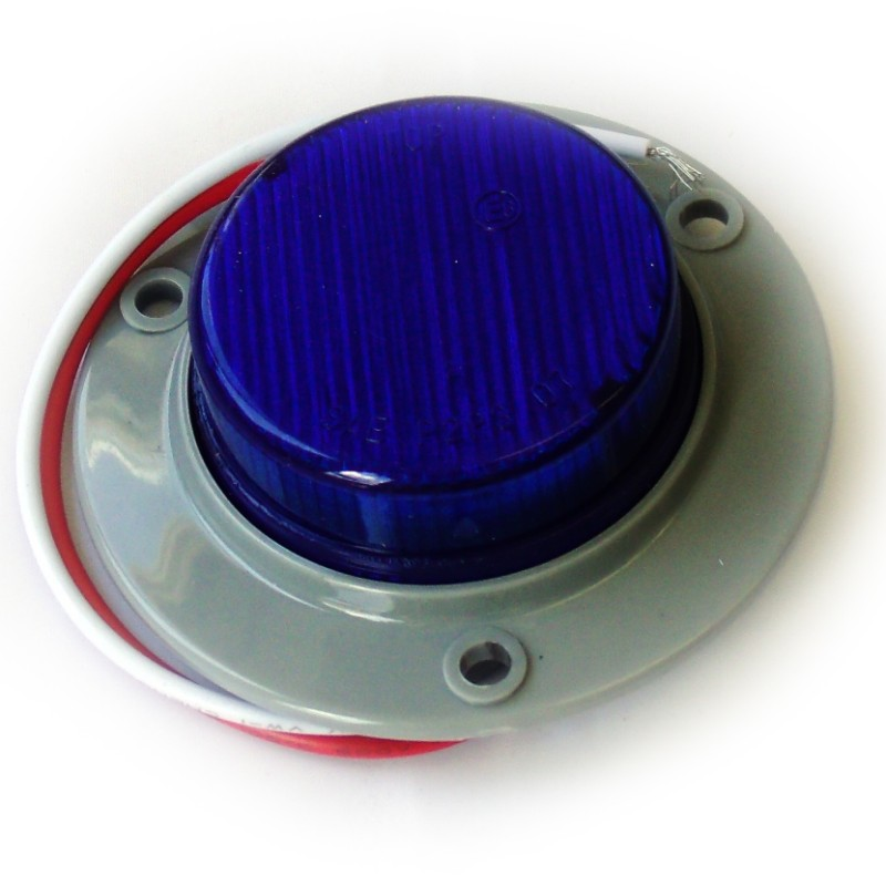 Race Sport Lighting Blue Truck and Trailer LED  Round 2.0 Inch - RS-2-3HB