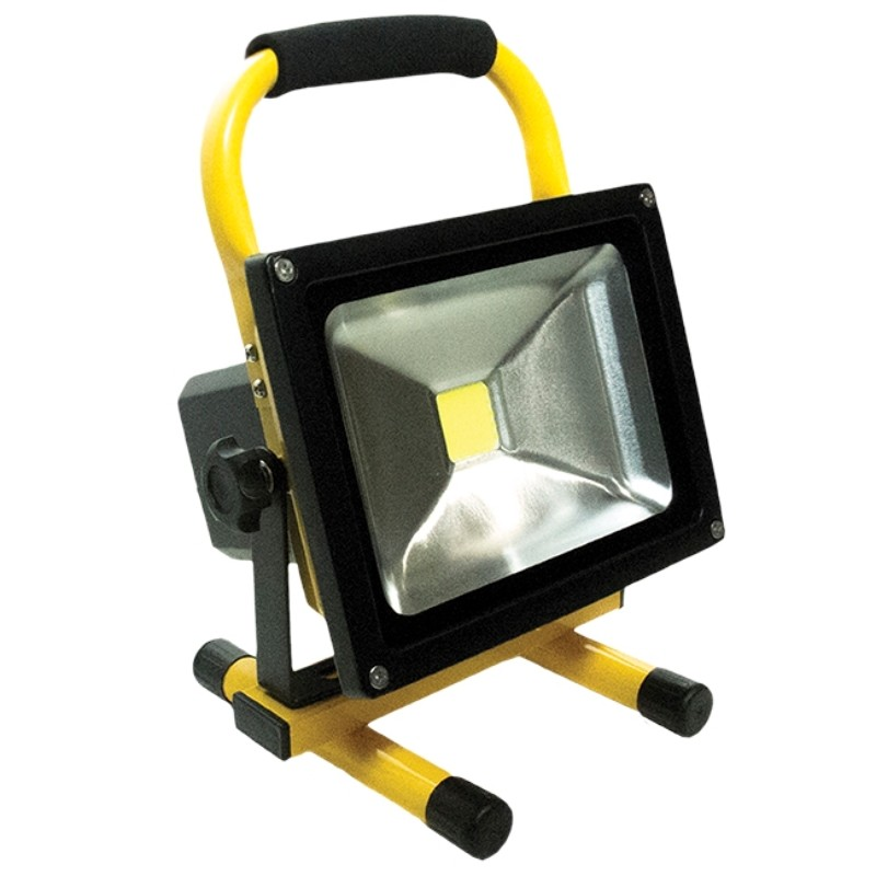 Race Sport Lighting White Portable Work Light 20 Watts 1500 Lumens Rechargeable - RS-20W-1500LM-W