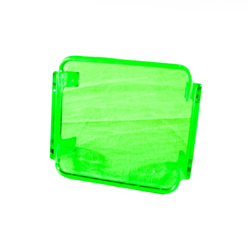 Race Sport Lighting Green Translucent 3x3in Protective Spotlight Cover - RS-3X3C-G