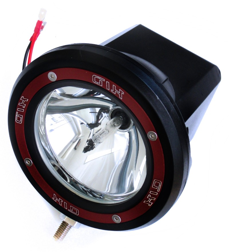 Race Sport Lighting 4.0 Inch High-Powered HID Off Road Rally Work Lamp 6,500K Individual - RS-4-HID-35W