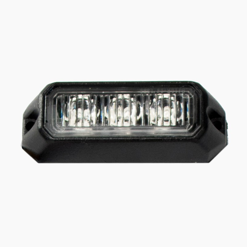 Race Sport Lighting 3-LED Amber IP68 Surface Mount Strobe - RS-A3069SM3-A