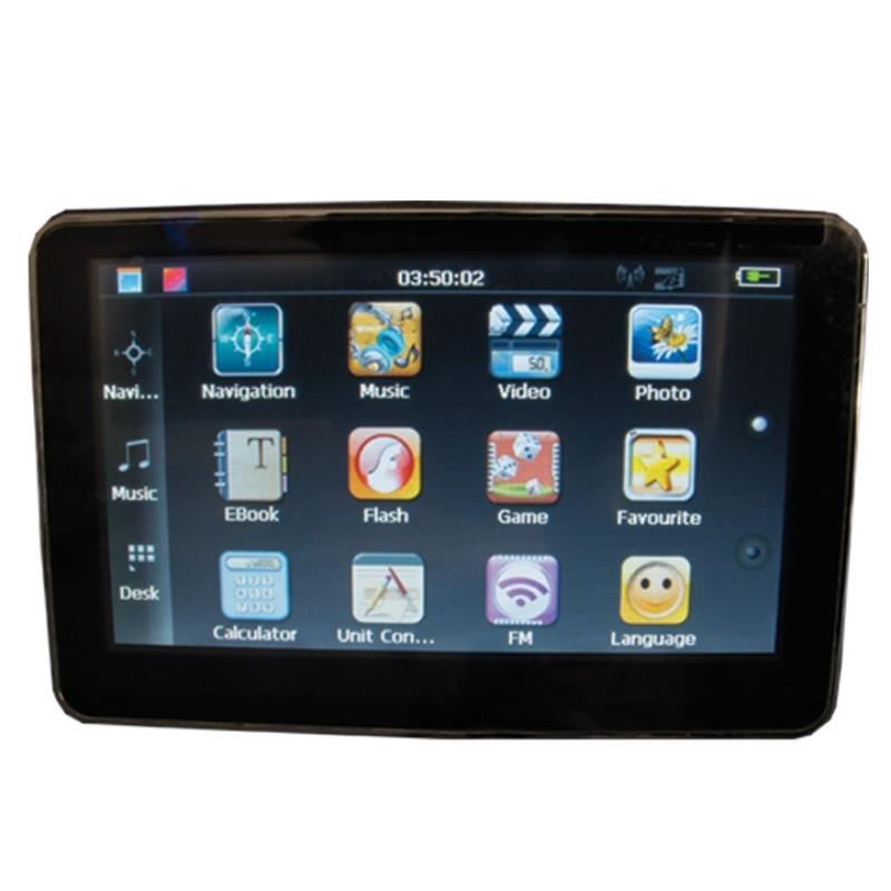 Race Sport Lighting GPS Portable Navigation Unit 4.3 Inch - RS-GPS-4.3