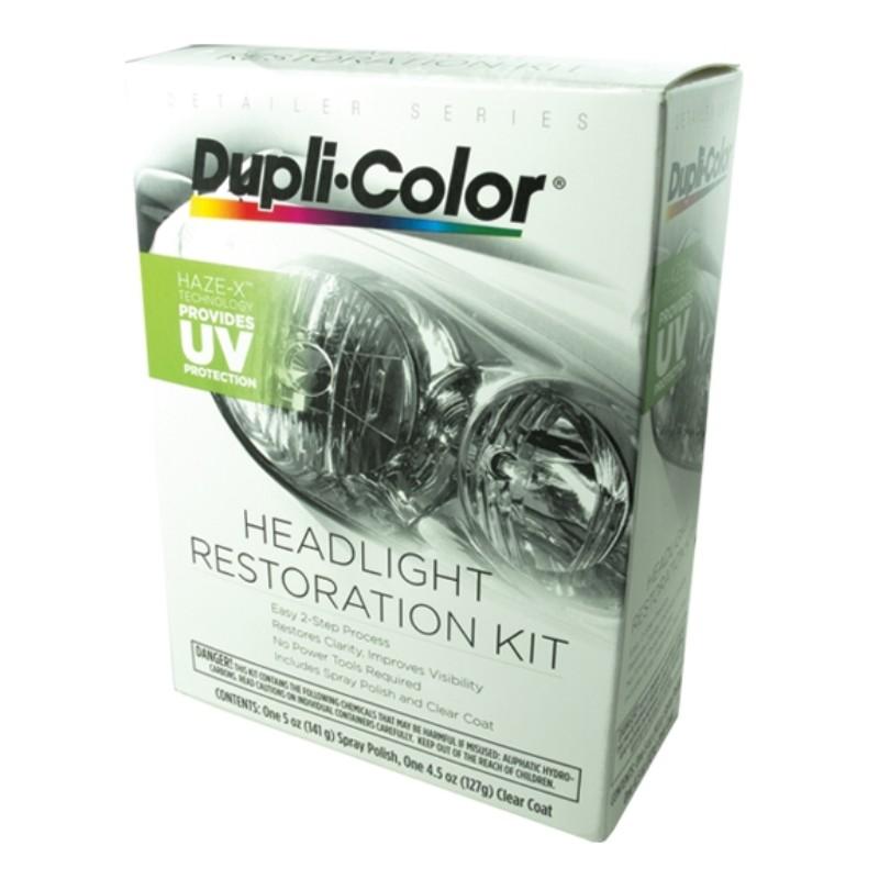 Race Sport Lighting Headlight Restoration Clear Lens Kit - RS-RESTORE