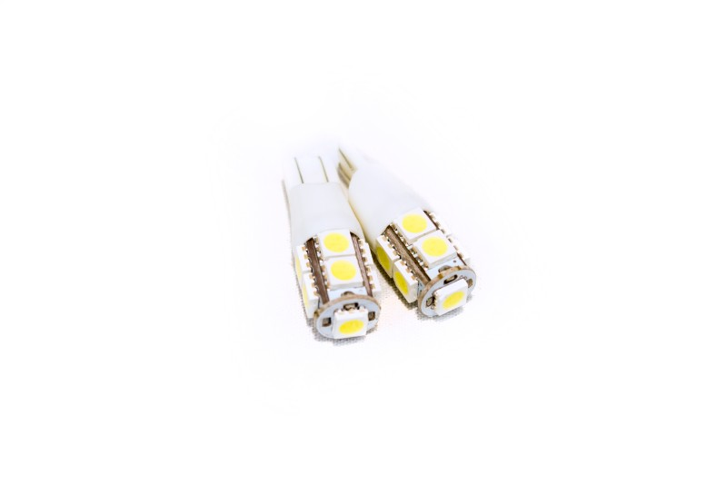 Race Sport Lighting T15 5050 LED 9 Chip Bulbs  Pair - RS-T15-W-5050